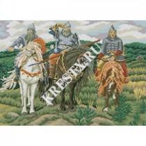 Схема вышивки «Три богатыря» Смотреть скриншот