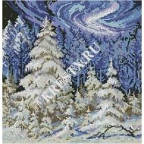 Скачать бесплатную схему вышивки крестом «Лесные красавицы»