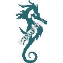 Схема вышивки «Морской конек» Смотреть скриншот