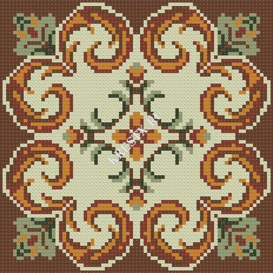 Скачать бесплатно схемы вышивок крестом орнаменты
