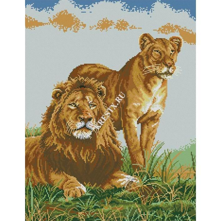 Схема льва для вышивки крестом скачать бесплатно