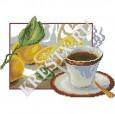 Скачать бесплатную схему вышивки крестом «Кофейное <em>крестом</em> настроение»