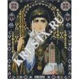Скачать бесплатную схему вышивки крестом «Святая Ольга»