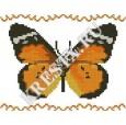 Скачать бесплатную схему вышивки крестом «Бабочка#1»