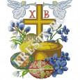 Схема вышивки крестом «Воскресение»