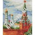 Схема вышивки крестом «Москва»