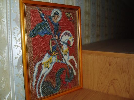 Вышивка крестом георгий победоносец схемы