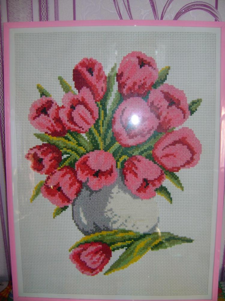 'Красный букет (Тюльпаны)'