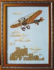 Вышивка крестом наборы самолет